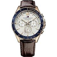 Tommy Hilfiger Men 1791118 Year-Round Analog Quartz Brown Watch