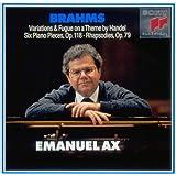 ブラームス : ヘンデルの主題による変奏曲とフーガ