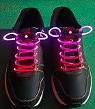 Amazon.co.jp光る靴ひも LED靴ひも LED ランニングシューズ 靴紐 -ピンク
