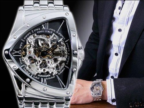 [コグ]COGU フルスケルトン 自動巻き 腕時計 BS0TM-BK