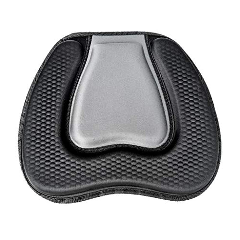 修正するカタログにじみ出る黒カヤックシートクッション快適なソフトアンチスリップカヤックシートクッションフィット用カヤックカヌー釣りボート