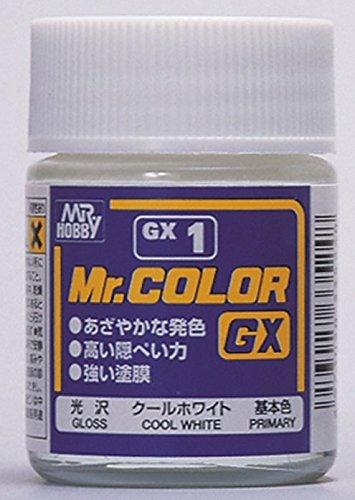 GSIクレオス Mr.カラーGX GX1 クールホワイト