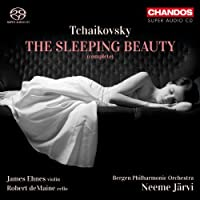 Tchaikovsky: The Sleeping Beauty (Neeme Jarvi/ James Ehnes/ Bergen Philharmonic Orchestra) (Chandos: CHSA 5113(2)) by James Ehnes (2012-12-06)