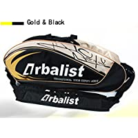 Apolala ラケットバッグ リュック付き テニス6本用 バドミントン テニス バッグ