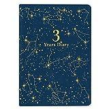アーティミス 手帳 2020年 3年連用 星空 ネイビー 20W3B6-HZ NV (2020年 1月始まり)