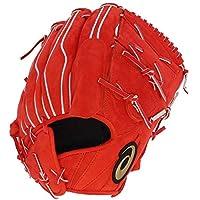 アシックス ベースボール スワロー限定 硬式グラブ 袋付き ゴールドステージ ヌバック 投手用 グローブ BOGKL3-OS-SW2 Rオレンジ 右投用(LH)