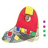 Slec tech 子供の屋外屋内テントシューティングテント子供の防水テント折り畳み式プレイハウス子供用テント教育的なおもちゃの家ポリエステル防水布