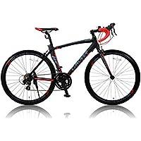 CANOVER(カノーバー)  ロードバイク 700C シマノ14段変速 CAR-012 (ADOONIS) アルミフレーム フロントLEDライト付 [メーカー保証1年]