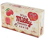 不二家 ホワイトミルキーチョコレート(あまおう苺) 60g×5袋