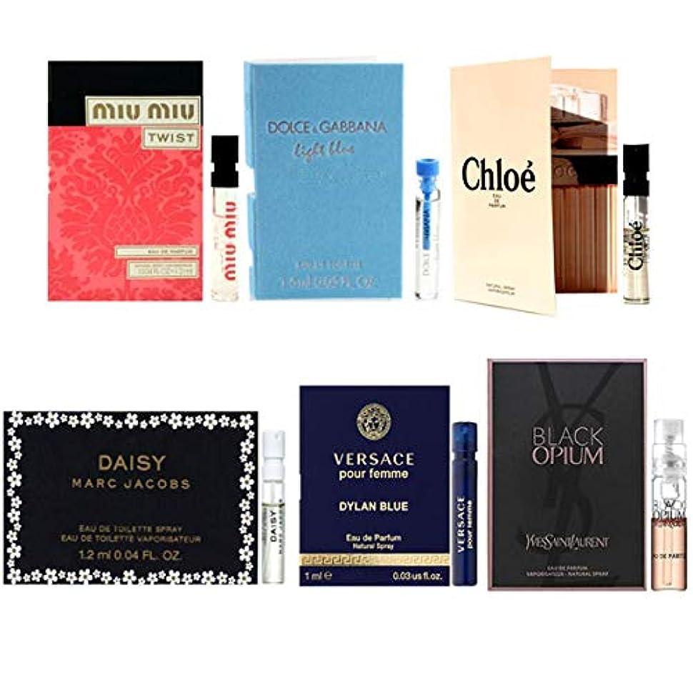 デンプシー同性愛者成長する女性用 Eau de Parfum/Eau de Toilette For Women Samples 6/set [海外直送品] [並行輸入品]