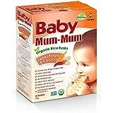 Baby Mum-Mum Sweet Potato and Carrot Flavour Organic Rice Rusks, 36 g