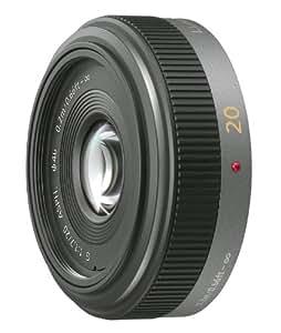 Panasonic 単焦点 広角パンケーキレンズ マイクロフォーサーズ用 ルミックス G 20mm/F1.7 ASPH. H-H020