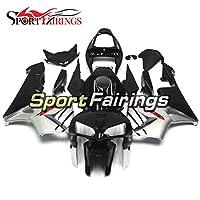 Sportfairings 外装部品の適応モデル フルフェアリングキットホンダ CBR600RR CBR 600 RR F5 年 2005 2006 ブラックシルバーカウボディ