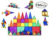 大容量高級磁石/マグネットブロック150ピースセット 知育玩具 【6か月保証書付き】 ピタゴラスの補充用商品に! 子供の想像力/創造力を養うおもちゃ 誕生日や出産祝いのプレゼントに!