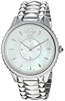 gv2by Gevril Women 's ' Siena ' Swiss QuartzステンレススチールCasual Watch, Color : silver-toned (モデル: 11700–424)
