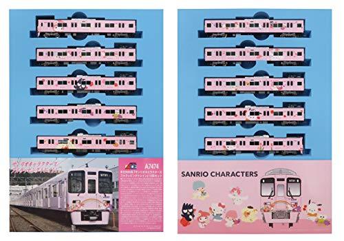 マイクロエース Nゲージ 京王9000系 「サンリオキャラクターズフルラッピングトレイン」 10両セット A7474 鉄道模型 電車