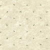 Chesapeake TLL01481 Pine Valley Sprig Toss Wallpaper, Grey [並行輸入品]