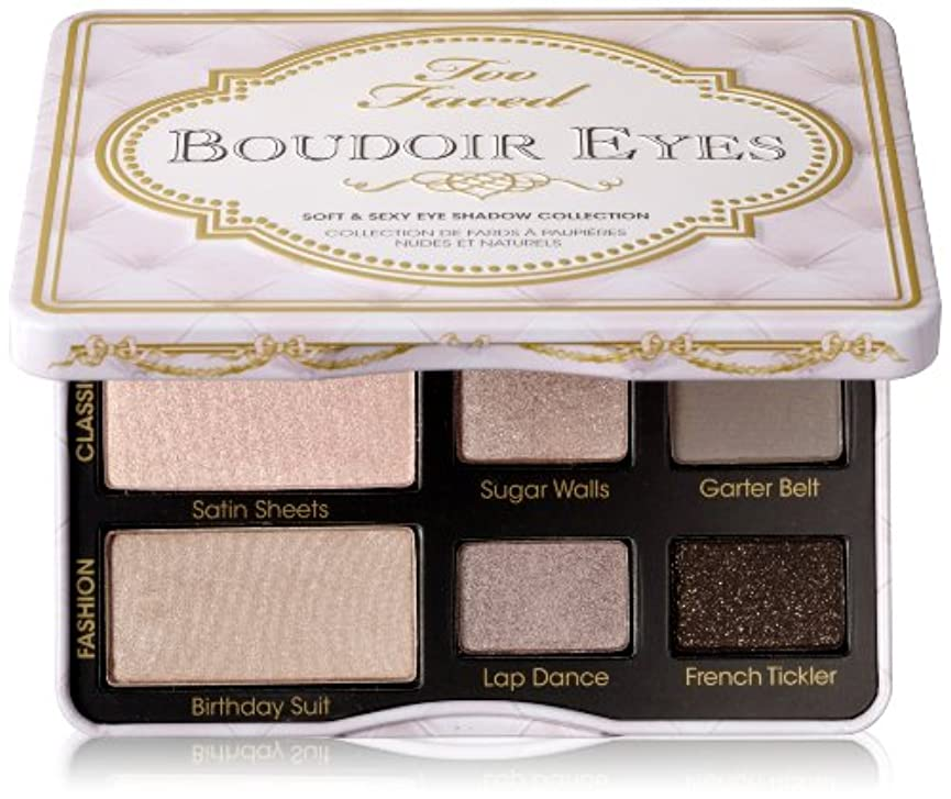 ダルセットバッテリーおばあさんToo Faced Boudoir Eyes Soft & Sexy Eye Shadow Collection (並行輸入品)