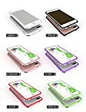 iPhone7 アルミバンパー かっこいい アイフォン 7 メタル サイドバンパー IP7-MV02-W60831 (グリーン)