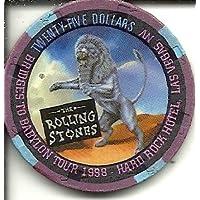 $ 25ハードロックホテルRolling Stonesラスベガスカジノチップ