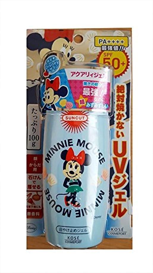 期待してオンベスビオ山【数量限定】ディズニー ミニーマウス×KOSE サンカット 日やけ止めエッセンス SPF50+ PA++++ 100g