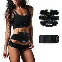 腹筋振動マシン 筋肉刺激 自動的に筋肉鍛錬 USB充電 腹筋・背筋・太股 男女兼用