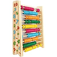 MDグループAbacus Wooden Toys Baby Kids Computing計算機数学学習ツール