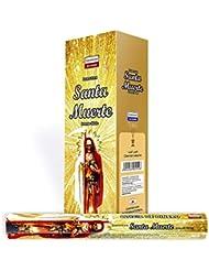 1 x Santa Muerteゴールド – 120 Sticksボックス – Darshan Incense