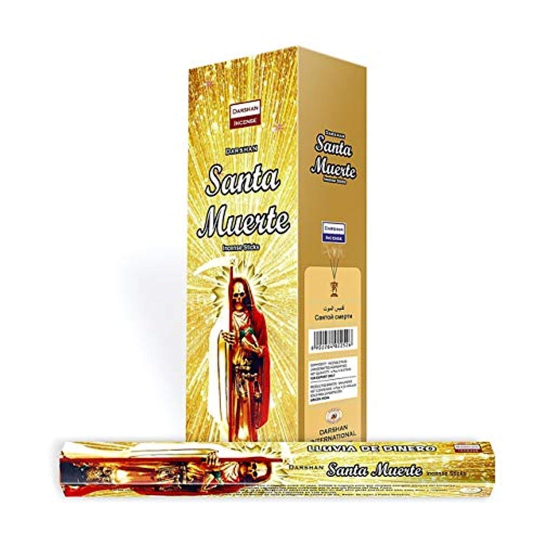 雨永久配置1 x Santa Muerteゴールド – 120 Sticksボックス – Darshan Incense