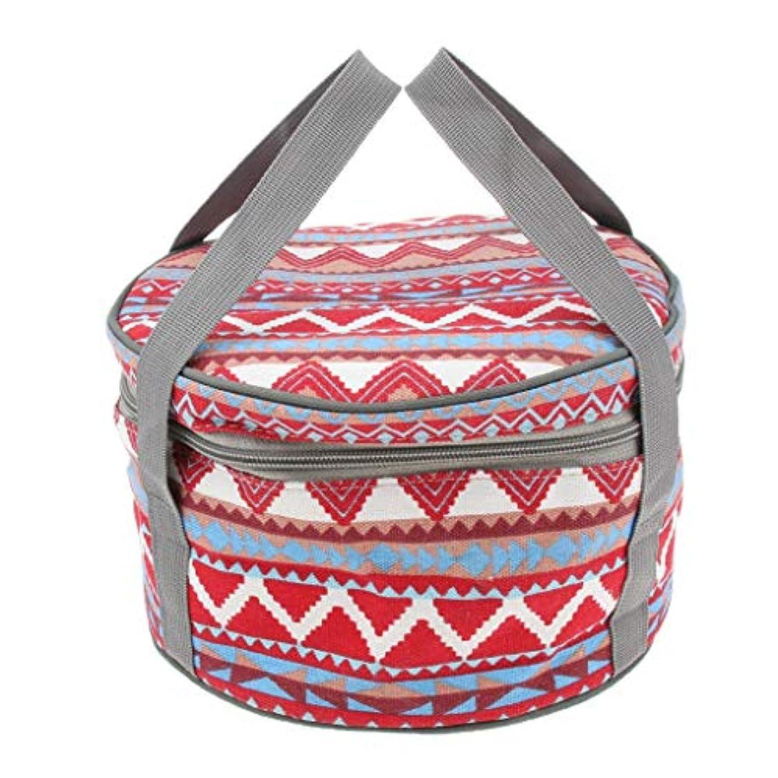 一時停止香ばしい崖Perfeclan 調理器具ホルダー 食器バッグ 収納バッグ ハンドバッグ