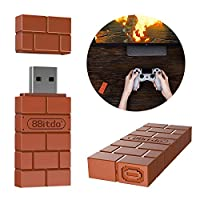 Ocamo ポータブル 8Bitdo USB ワイヤレス Bluetooth アダプター ゲームパッド レシーバー