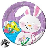 Bunny Juggle Dessert Plate (8) [並行輸入品]