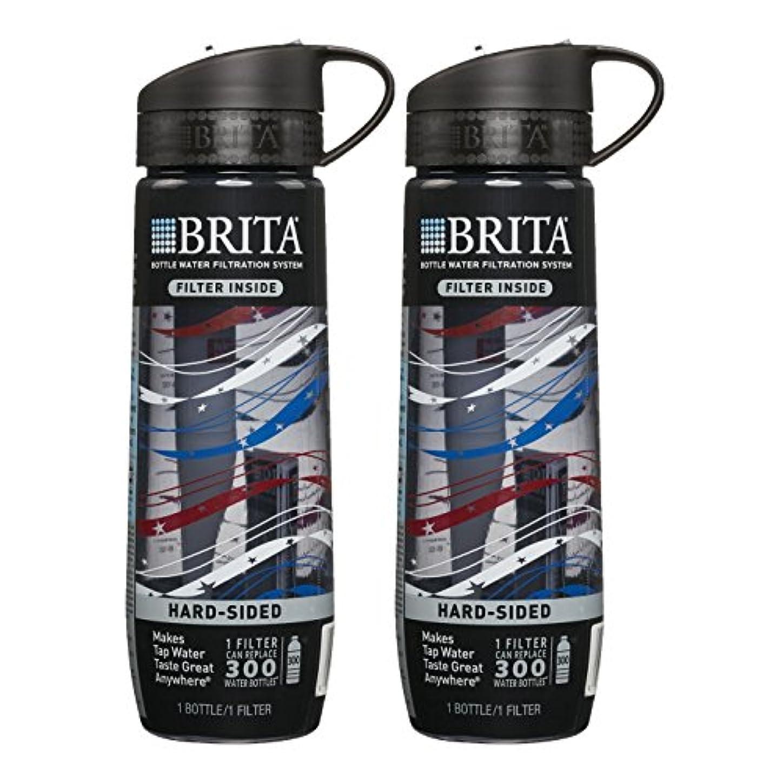 属性多様な高音Britaスポーツ水フィルターボトル、ツインパック、20オンス