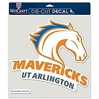 WinCraft UT Arlington Mavericks パーフェクトカットダイカットデカール 8インチ x 8インチ