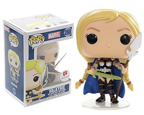Marvel(マーベル) Thor: Ragnarok(マイティ・ソー/バトルロイヤル) Valkyrie(ヴァルキリー) 米国ショップ限定モデル FUNKO/ファンコ POP MARVEL VINYL ボブルヘッド [並行輸入品]