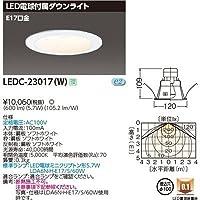 東芝 一般形電球付DL E17Ф100 LEDC-23017(W)