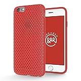 AndMesh iphone6s ケース メッシュケース レッド AMMSC600-RED