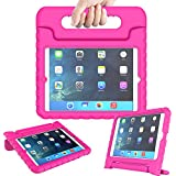 AVAWO iPad Mini Kids Case - Light Weight Shock Proof Handle Stand Kids for Ipad Mini, Ipad Mini 3Rd Generation, Ipad Mini 2 with Retina Display - Rose