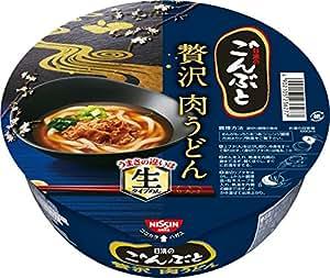 日清食品 日清のごんぶと 贅沢肉うどん 232g×12個