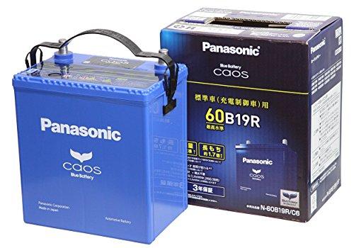 Panasonic ( パナソニック ) 国産車バッテリー Blue Battery カオス 標準車用 C6 N-60B19R/C6