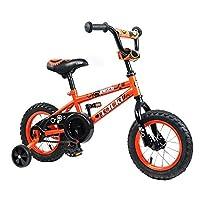 Tauki KidバイクBMX Bike forボーイズ、ガールズ、12インチ、95%組み立てられ、2–5歳の古い