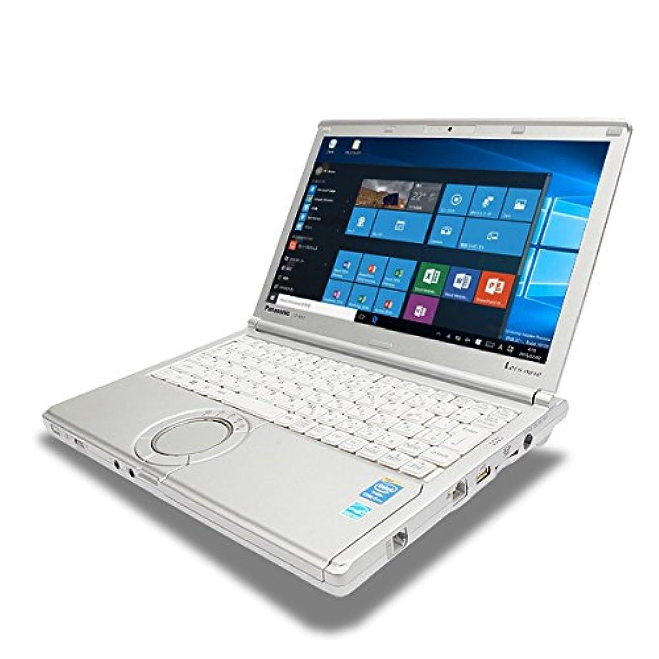 乏しい研究誰ノートパソコン 中古 Panasonic Let'snote CF-NX3GDHCS Core i5 8GBメモリ 12.1インチワイド Windows10 WPS Office 付き