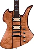 B.C. RICH Mk9D-MB-MPB w/case Mk9D Mockingbird Electric Guitar with Hard Shell Case Maple Burl DiMarzio Pickups [並行輸入品]
