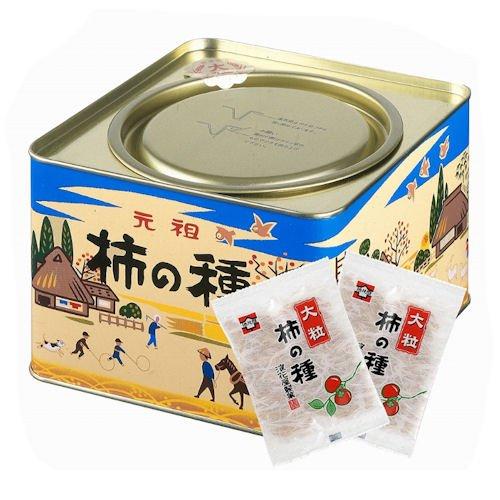 大粒柿の種 進物缶 20g×12袋