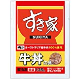 すき家 冷凍牛丼の具 20P