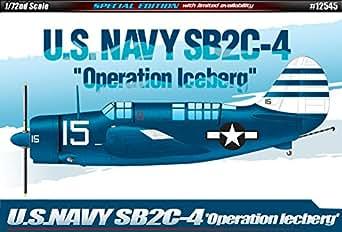 アカデミ 1/72 米海軍 SB2C-4 Operation iceberg Aca12545 Catograf