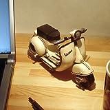 ブリキのおもちゃ・アンティーク調の小さいスクーター*ベスパ*S