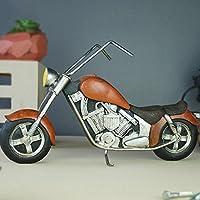 レトロオートバイモデルの工芸品装飾カフェレストラン産業風の装飾ギフト、44 * 14 * 25センチメートル