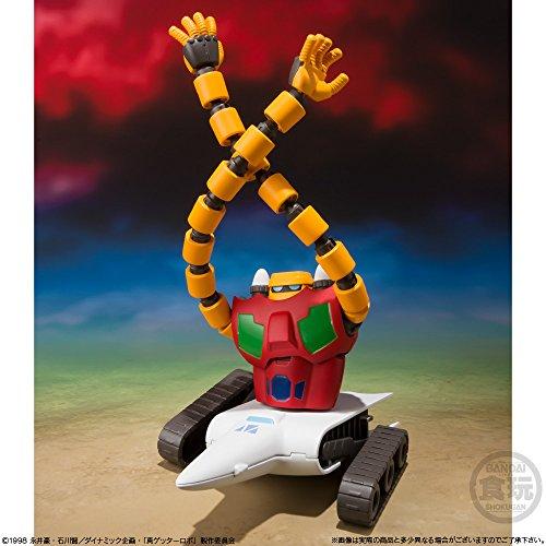 スーパーミニプラ 真 (チェンジ!!) ゲッターロボ Vol.1 (3個入り) 食玩・ガム (真 チェンジ!! ゲッターロボ 世界最後の日)