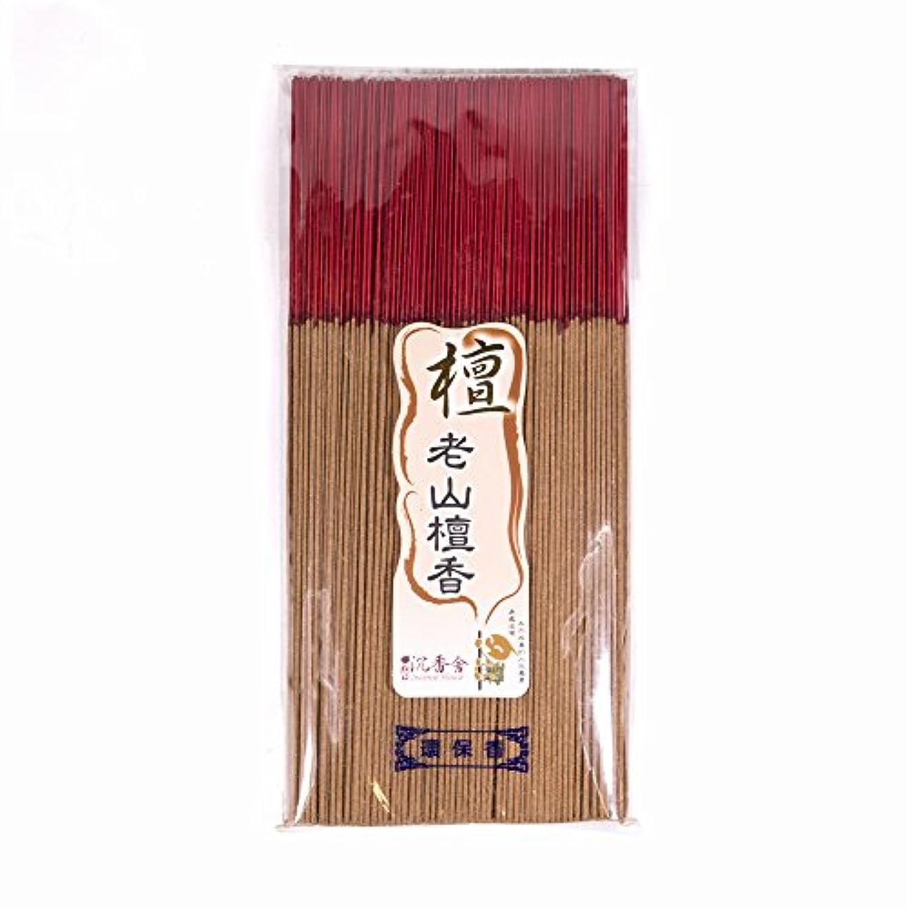オーナー洞察力のある抑止する台湾沉香舍 老山檀香 台湾のお香家 - 檀香 30cm (木支香) 300g 約400本